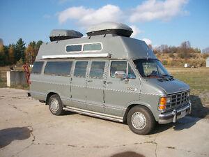 Dodge Camper Van Safetied