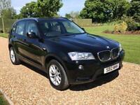 2012 12 BMW X3 2.0 XDRIVE20D SE 5D AUTO 181 BHP DIESEL