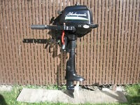 moteur parsun 2.5 hp 4 temps - 2013
