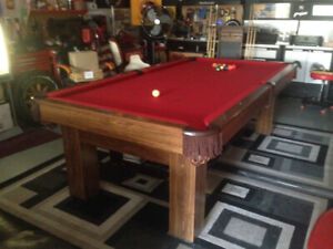 Pool Table Canada Billiards Anniversary Limited Edition 4'X8'