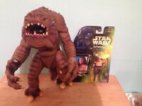 Star Wars Rancor & keeper figures