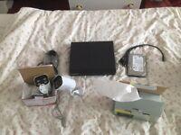 New 2camera hi spec CCTV system
