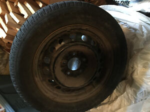 2 Tires, 4 Rims, and 4 Hubcaps Kingston Kingston Area image 2