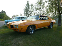 1970 GTO Judge Clone 4 speed 400