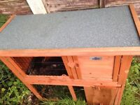 Guinea pig/ small rabbit hutch.