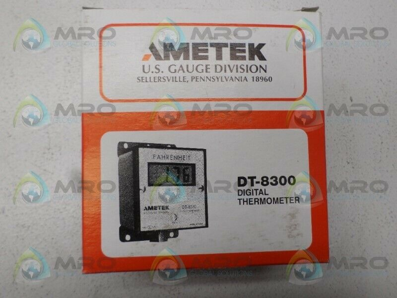 AMETEK DT-8320 DT-8321 DIGITAL THERMOMETER -50/250C *NEW IN BOX*