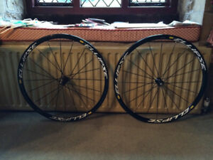 Mavic Ellipse Wheelset - Fixed gear - Fixie -  Track Bike