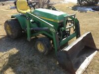 John Deere Compact Tractor with From End Loader