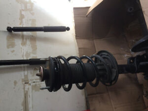 2008 Acura MDX GUC front strut  assy and rear shock absorber