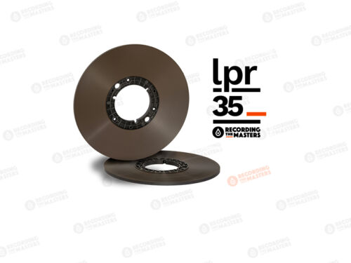 "RTM LPR35 NAB Pancake Long Reel Tape 1/4"" 3600ft 1100m 10.5"" Authorised Dealer"