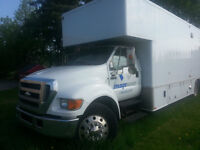 CUSTOM BUILT MOBILE STORE FORD F750 Super Duty