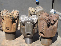 Used Oilfield Tricone drill bits WANTED!