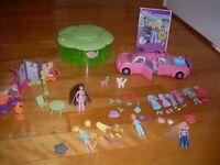 Polly Pocket limousine, DVD, Magasin et rangement