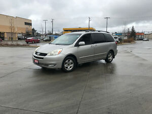 2005 Toyota Sienna, LE, Leather, 3 Years warranty available.