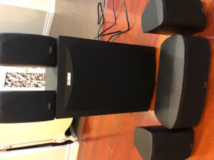 Polkaudio RM6750 home theater system 5.1