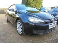 2013 13 VOLKSWAGEN GOLF 1.6 SE TDI BLUEMOTION TECHNOLOGY 2DR 104 BHP CONVERTIBLE