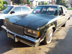 LOWER PRICE !!! .1984 Buick Regal Limited 4dr. V8 122k km