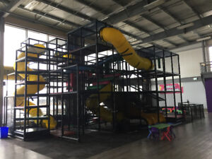 INDOOR PLAYGROUND & LASER TAG EQUIPMENT