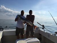 Muskie fishing charter on Lake St clair