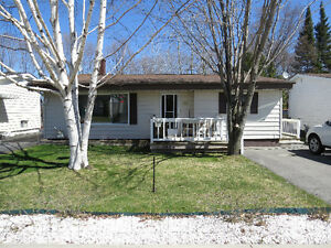 Spacious home with a great yard. Elliot Lake