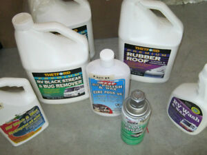 RV Cleaning Items