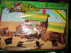 Log builders set vintage