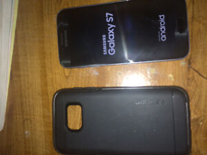 Brand new Samsung s7 with 128gb memory card
