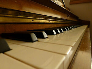 Antique Upright Apartment Sized Piano: ENNIS