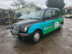 London taxi black 2.4 Automatic 2005