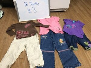 18 months clothing lot