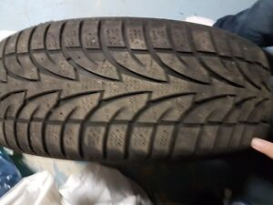 225/65/R17 STUDDED winter tires for sale