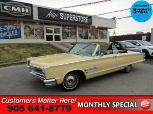 1966 Chrysler 300   LEATHER A/C NEW-TOP/CARPETS