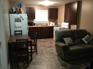 Furnished One Bedroom Suite in Estevan, SK (Available JULY 1)