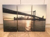 3 Piece Canvas - Home Decor - Wall Art