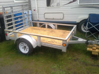Utility trailer bought May 1 2015 for $750 obo. Text only