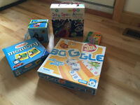 Selection of kid's games and puzzles