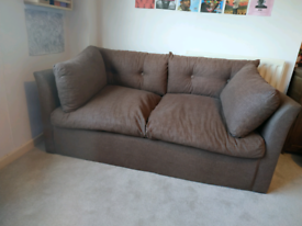 Small double sofabed, guest bed, 148cm long