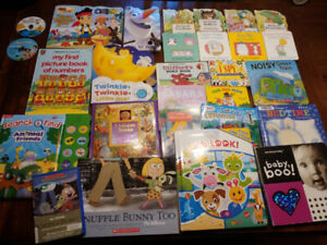 24 Baby/toddler books +