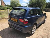 2005 BMW X3 3.0d auto M Sport 4wd Sat Nav + Leather + Pan Roof + 7 Services