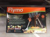 GARDEN VACUUM FLYMO BRAND NEW