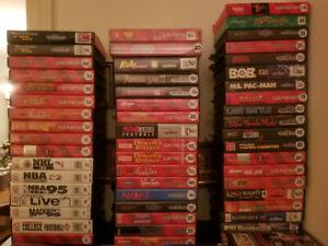 Sega Genesis, 32X and Sega CD games for sale (updated Aug 24/19