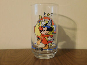 Disney Mickey Mouse 60th Birthday Drinking Glass