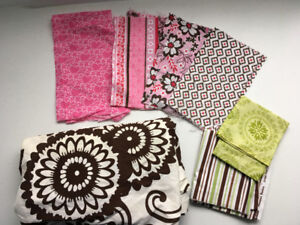 Assorted flannel and cotton print fabrics-SOLD PPU