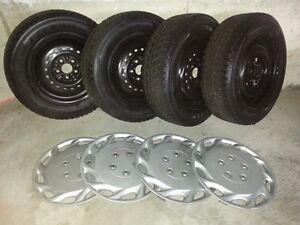 """14"""" Winter Tires with Rims"""