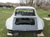 Porsche 911 930 turbo style wide body project roller