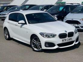 2017 P BMW 1 SERIES 2.0 120D M SPORT (NAV / LEATHER / M SPORT PLUS PACK) 5D 188