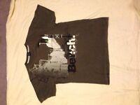 3 medium bench t-shirts