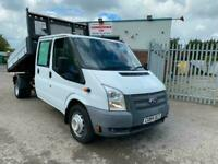 64 FORD TRANSIT CREW D/CAB ONE STOP 125PS DROPSIDE TIPPER, 68K MILES, EXCELLENT!