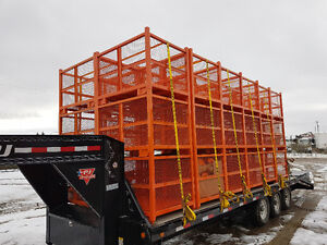 """46"""" x 36"""" x 34"""" Stackable Steel Crates for Sale Strathcona County Edmonton Area image 4"""