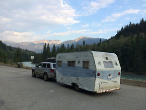 Retro Terry travel trailer
